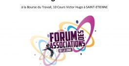 L'association au Forum des associations de la Loire